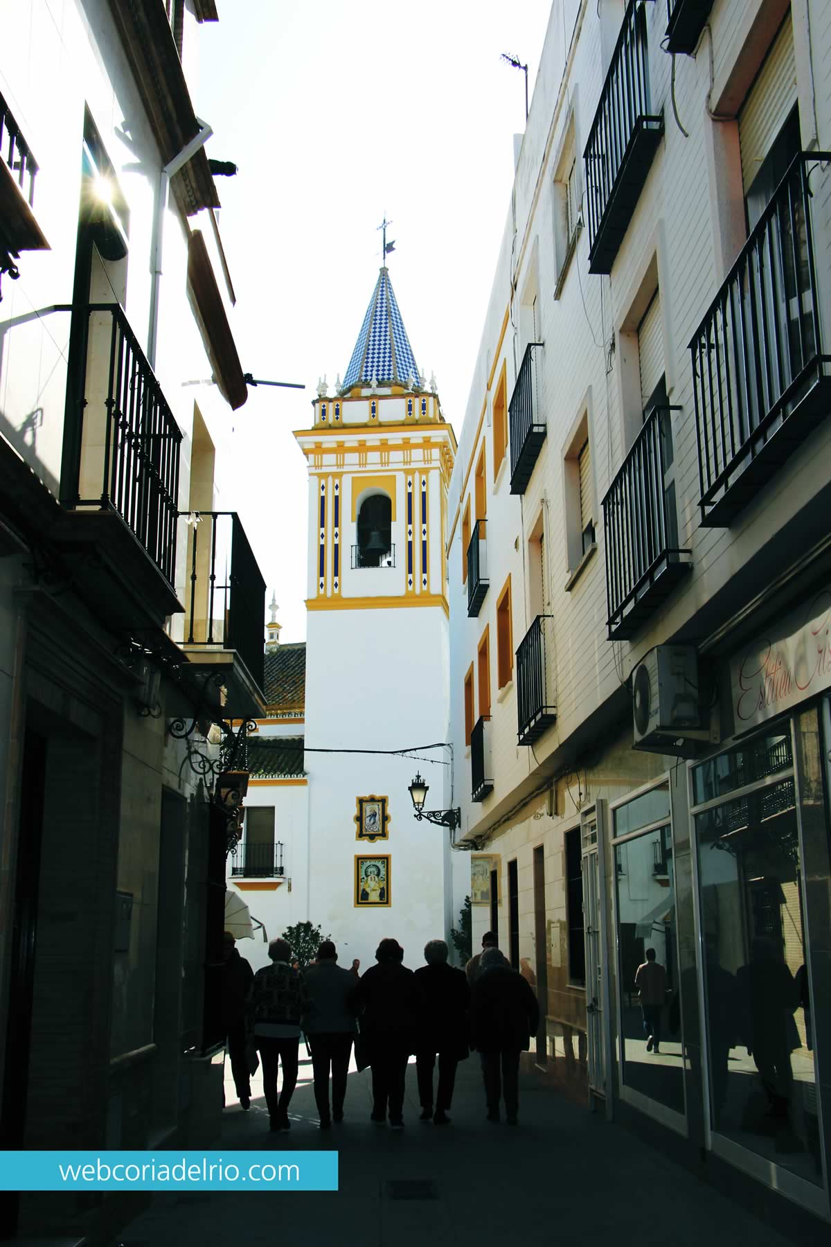 Iglesia Estrella Coria del Rio
